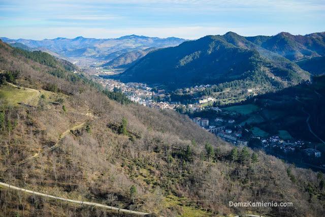 Marradi vista da Castellone