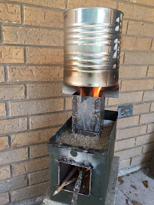 Rocket Stove design and build