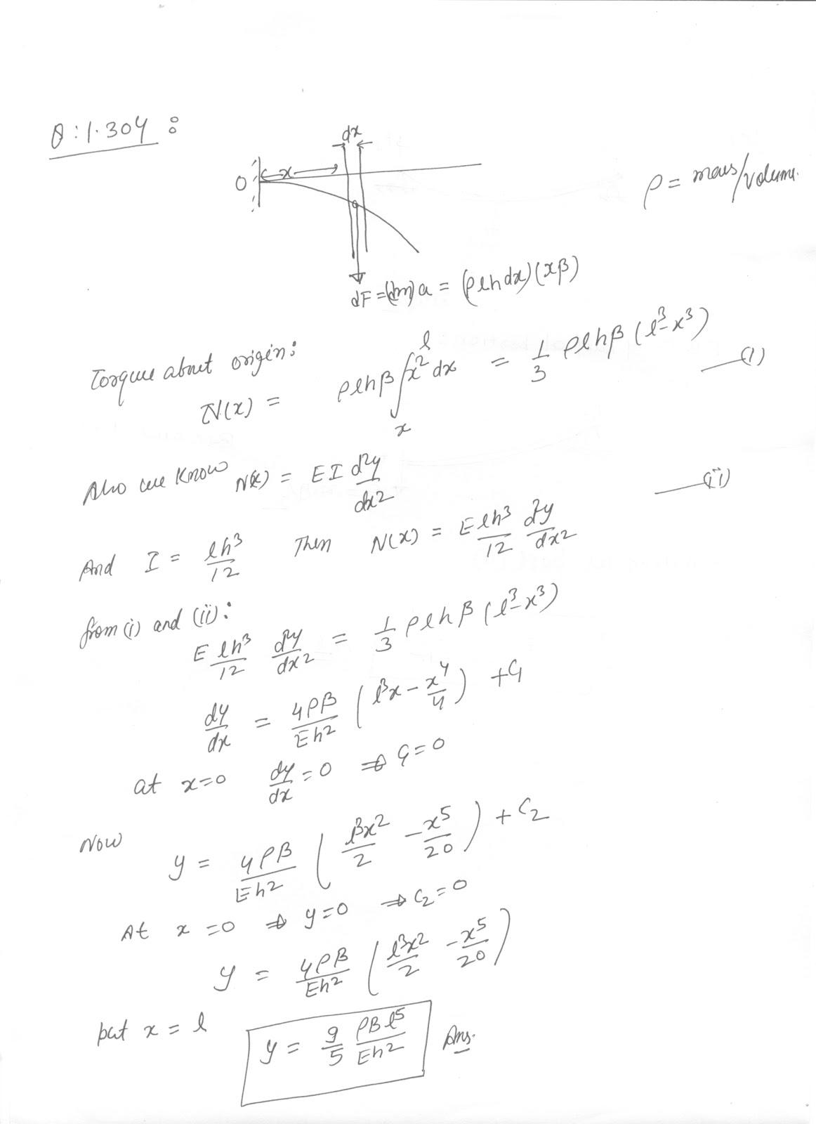 SOLUTIONS TO I E IRODOV BY RKH: PROBLEM:1.304