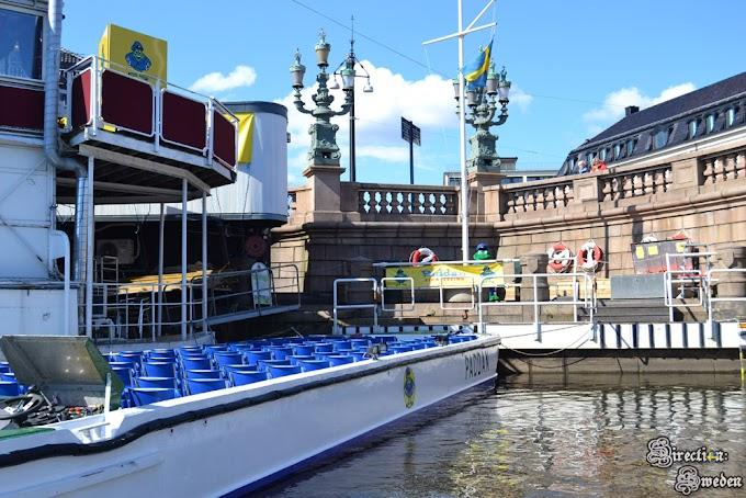 Rejs kanałami Göteborga