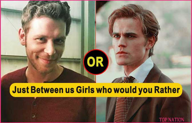 The Vampire Diaries: The Hardest Who ould You Rather (Quiz)