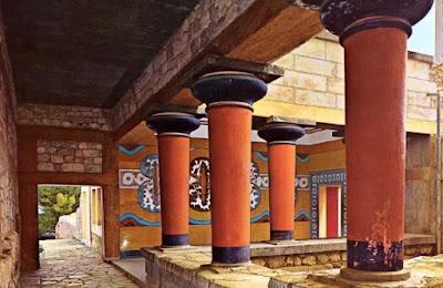 palacio de cnossos comentario