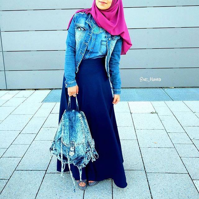 Vetement Hijab Simple Avec Robe Hijab Fashion And Chic Style