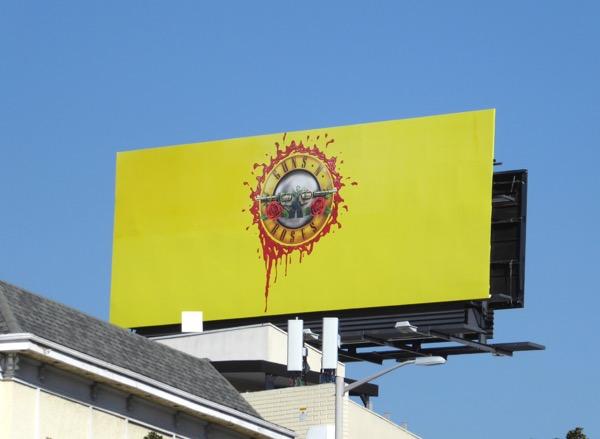Guns N Roses billboard
