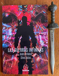 Portada del libro Las guerras infinitas, de Juan Antonio Oliva Ostos