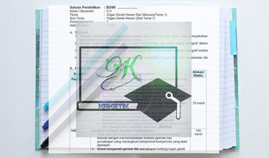 RPP 1 Lembar Kelas 5 Semester 1 K13 Revisi Terbaru: Dipublikasikan oleh kaketik.com penulis artikel Romansyah.