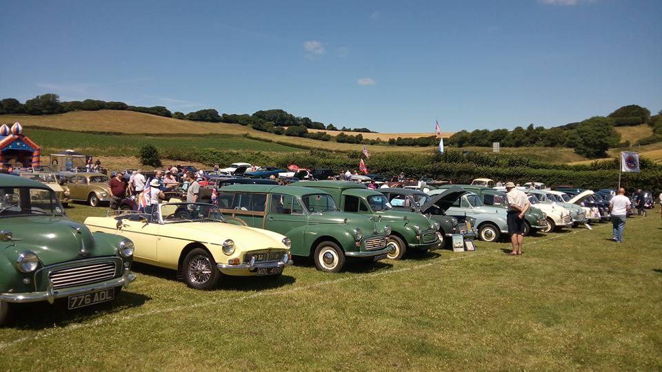 Arreton Barns Car Show