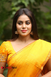 Actress Poorna Pictures in Saree at Avanthika Movie Opening  0004