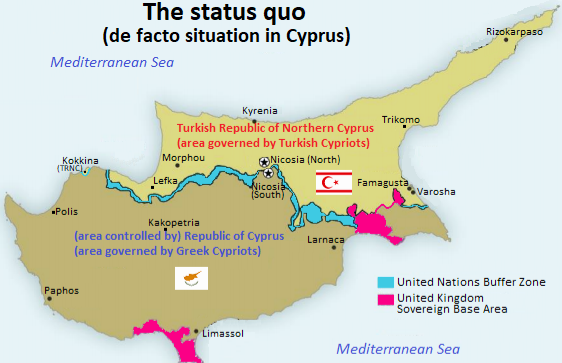 The two-state solution for Cyprus : Turkey and the Mediterranean