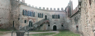 The 10th century house at the centre of Soave Castle