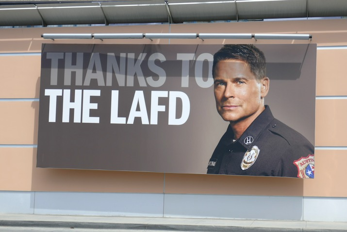 Thanks LAFD 911 Lone Star billboard