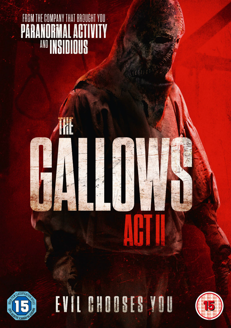the gallows act 2 dvd