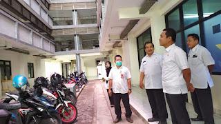 Aparatur DPKP Lumajang Diminta Kontrol dan Perhatikan Kebersihan Lingkungan Rusunawa
