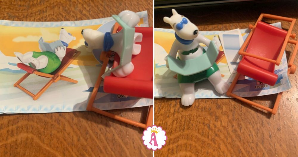 Мишка с книгой Kinder Maxi Polar Bears DVB16
