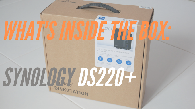 Inside the box: Synology DS220+