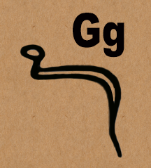 Image: G in Hieroglyphics