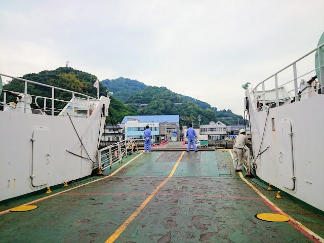 岡村島 フェリー 港