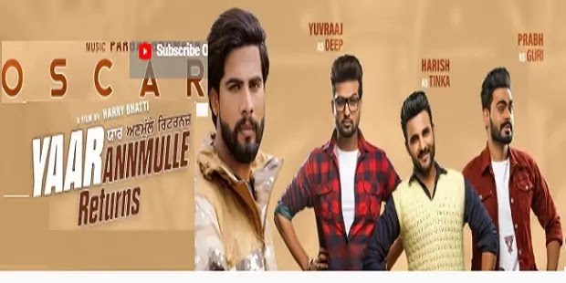 ऑस्कर लिरिक्स Oscar Lyrics in hindi-Singga (Yaar Anmulle Returns)