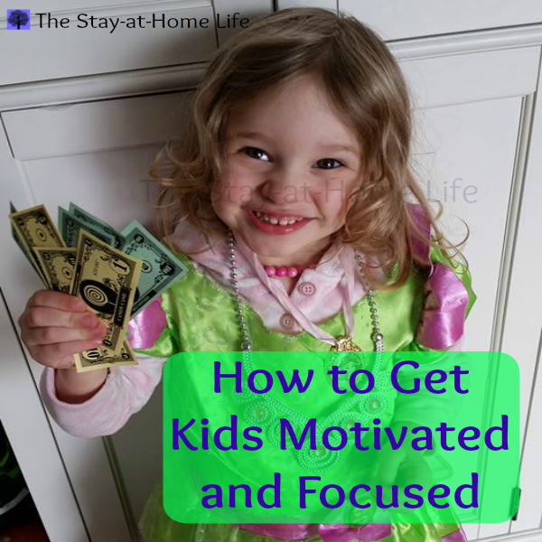 how to get kids motivated and focused kidcash