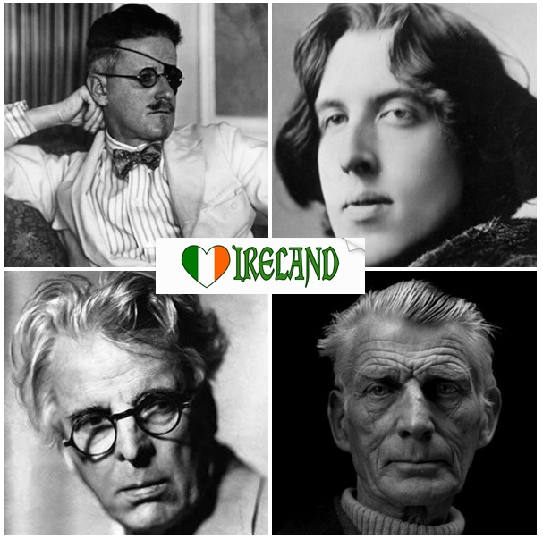 cuatro dublineses_oscar wilde_Yeats_James Joyce_Samuel Beckett_biografías