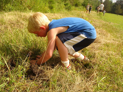 Jewish Tree Planting Ceremony at Tamarack Camps in Ortonville, Michigan