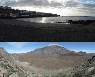 Mar a Cumbre - Porís de Abona - PR-TF-86 - Tenerife - Islas Canarias - Poris de Abona a Parador del Teide