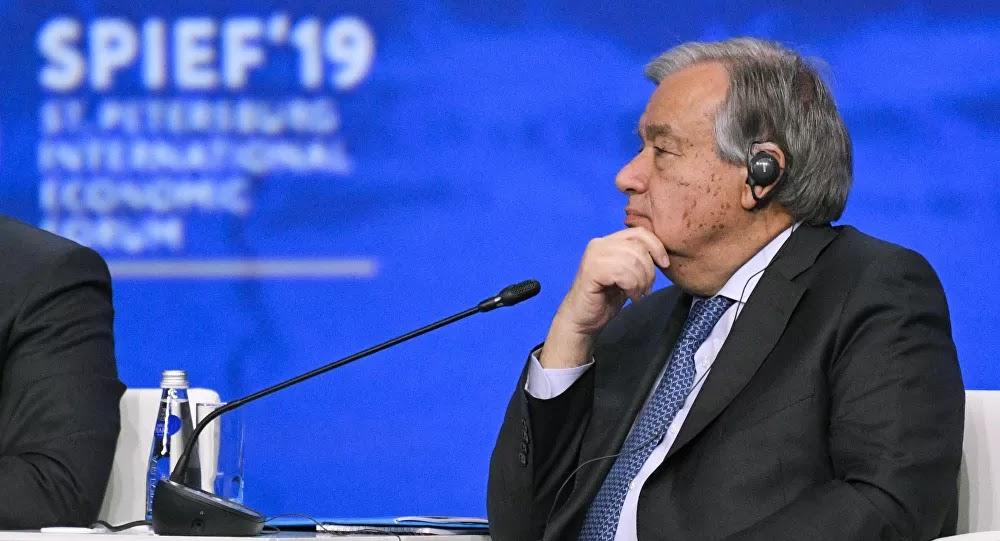 """رئيس الأمم المتحدة يعلن حالة الطوارئ المناخية على """"الكوكب المحطم"""""""
