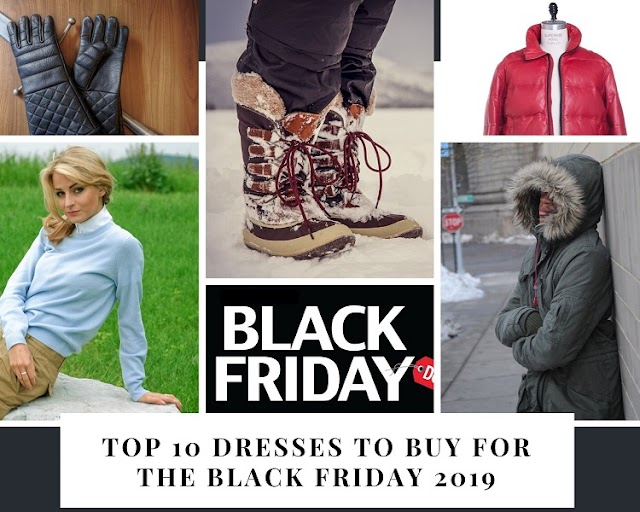 Top 10 Dresses to Buy for the Black Friday 2019