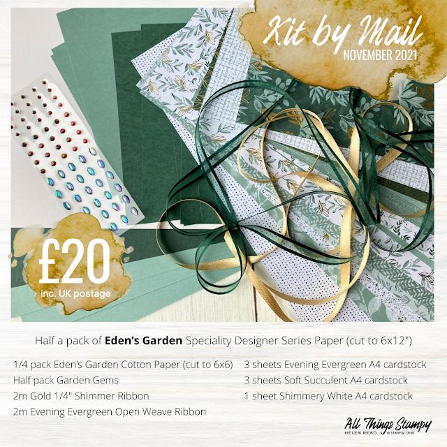 Eden's Garden kit stampin up uk demonstrator