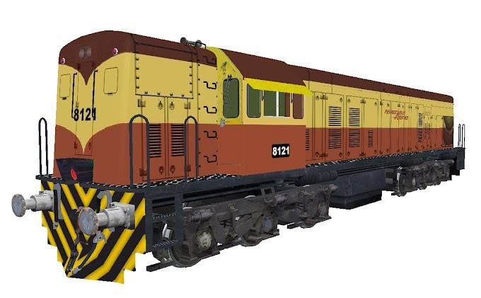 GE U18C 8121 - Ferrocarriles Argentinos