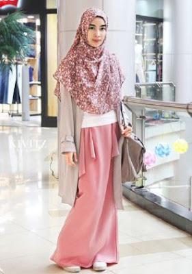 kreasi terbaru model busana muslim casual remaja