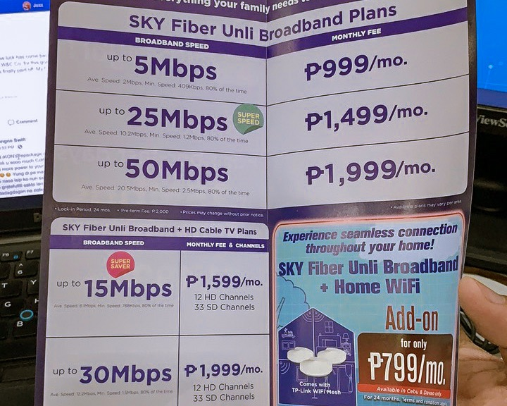 SKY Fiber All-In Box by Jexx Hinggo