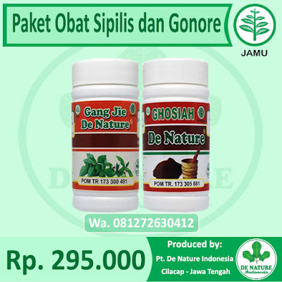 Obat Sipilis dan Gonore Herbal
