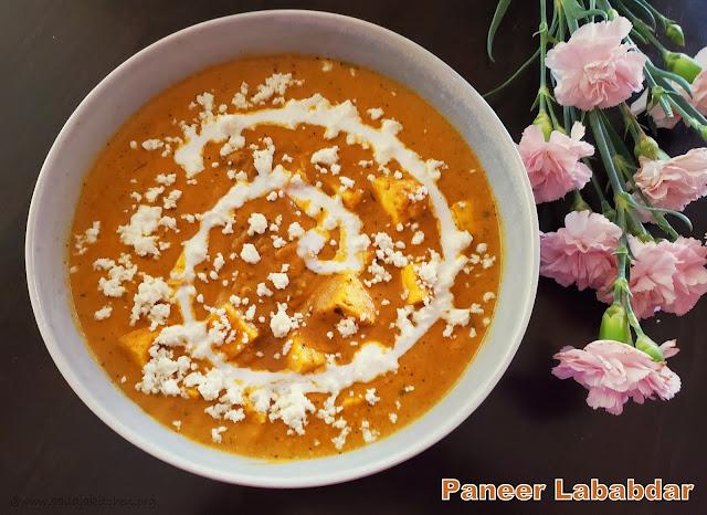 images of Paneer Lababdar /  Dhaba Style Paneer Lababdar - Paneer Recipes