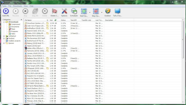 Internet Download Manager (IDM) 2020 6.37 Build Download Manager