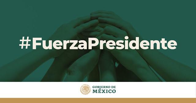 Tendencias en Twitter: #FuerzaPresidente versus #nolecreo al informarse que AMLO da positivo a COVID-19