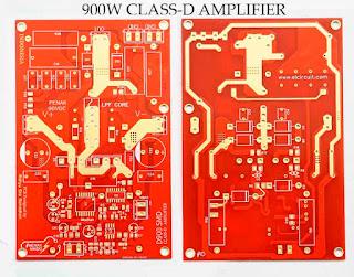 PCB Layout Class-D D900