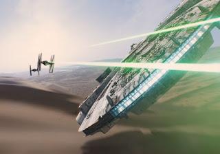 nuevo featurette con los efectos visuales de star wars: el despertar de la fuerza