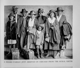 'A Negro Family Just Arrived in Chicago From the Rural South'