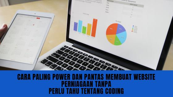 Cara Paling Power Dan Pantas Membuat Website Perniagaan Tanpa Perlu Tahu Tentang Coding