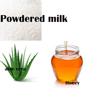 powdered milk honey aloevera homemade facial masks treatments for dry skin