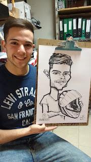 caricaturistas en barcelona