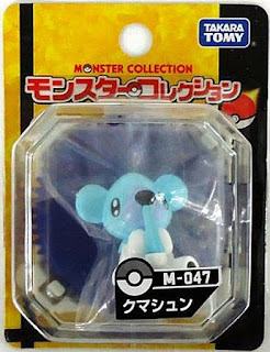 Cubchoo figure Takara Tomy Monster Collection M series
