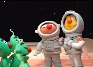 Sesame Street Bert and Ernie's Great Adventures Planet Bert.1
