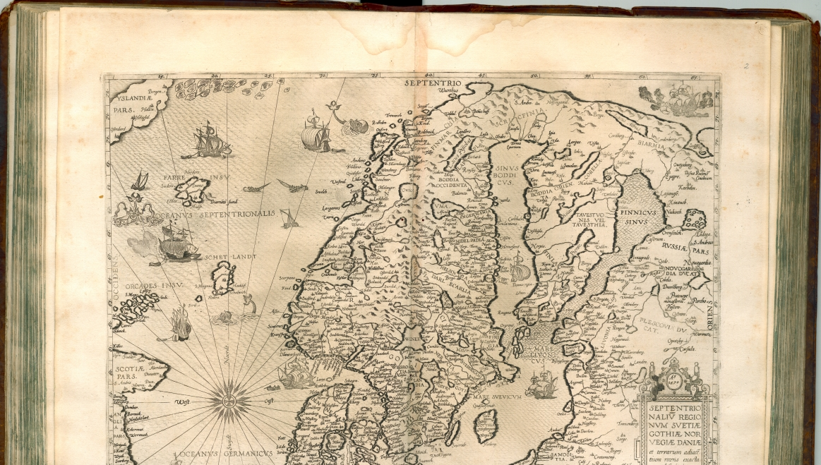 Ladan Aland Pa Historiska Kartor The Aland Isles On Historical Maps
