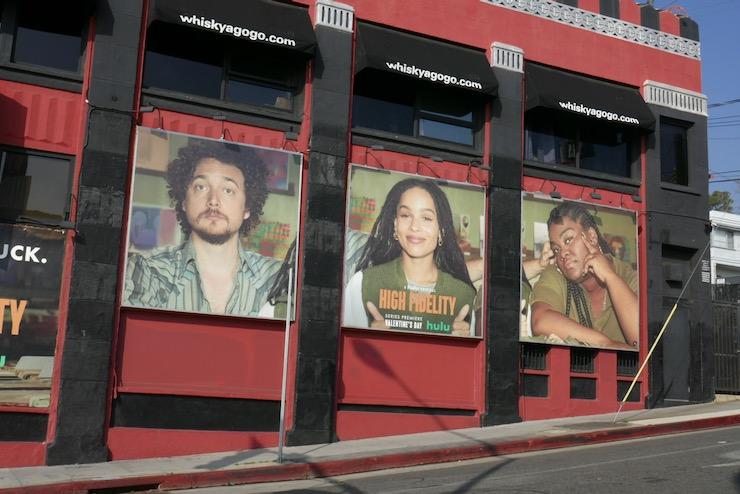 High Fidelity series launch billboards