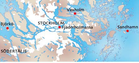 sandhamn sverige kart Karta över Vaxholm Kommun Bild | Karta över Sverige, Geografisk  sandhamn sverige kart