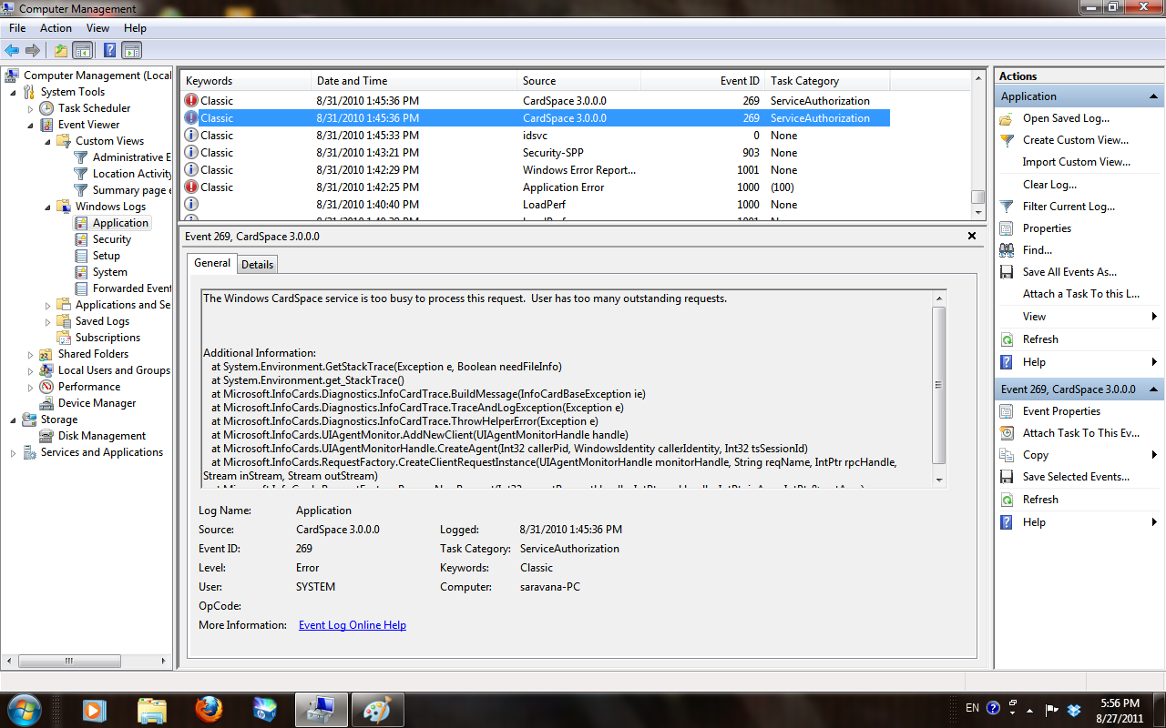 Troubleshooting Windows Errors And Solutions: 2011