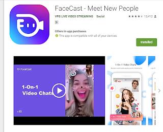 Facecast app details in hindi|face cast app