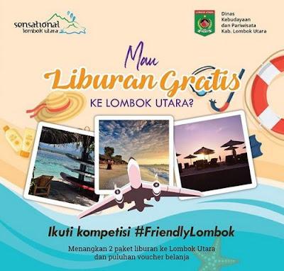 Kontes Foto / Video Berhadiah Liburan Ke Lombok Utara